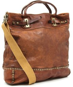 Campomaggi Tote leather 40 cm - C1185VL | Designer Brands :: wardow.com