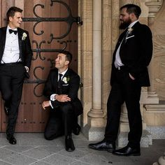 Thank you @theresakatherine88 for sending this one through and @dreamlifebrisbane for capturing this moment. We take pride in what we do and always love seeing our hard work in action.  #wedding #groomsmen #style