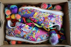 Oh crap, I want these sneeks!!!Reebok And Lisa Frank Are Bringing You A Very '90s Sneaker
