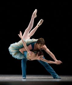 "ballet pas de deux I always wanted to dance ""The Blue Bird"""