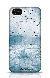 Ground Cracked Birds In The Sky Apple iPhone 4S Phone Case