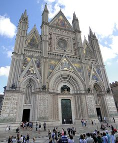 Duomo di Orvieto- siena cathedral, florence or umbria, italy