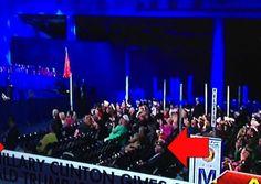 LOTS OF EMPTY SEATS AT HILLARY SPEECH: A worn, haggard looking Hillary Clinton…