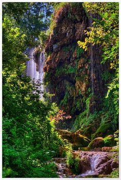 Gorman Falls, Colorado Bend State Park, USA