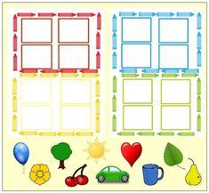 Otthon elkészíthető ovis fejlesztő játék Cicely Mary Barker, File Folder Games, Educational Games For Kids, Pre School, Kindergarten, Clip Art, Activities, Children, Dyslexia