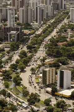 """Avenida Agamenon Magalhães"". #Recife. Estado de Pernambuco, Brasil."