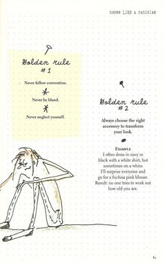 Parisian Chic: A Style Guide by Inès de la Fressange | Golden Rules