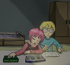 Code Lyoko: Finals Week by Son-Neko on @DeviantArt <---probly my fav CL artist :). ~Rachnoch Surren