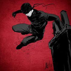 Daredevil Netflix by Abel Garcia