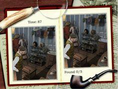 Sherlock Holmes: The Case Of The Silver Earring #OnlineGames #HiddenObject