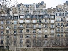 Am I crazy to want to live here? I don't care. Paris' Row Houses