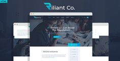 Buy Riliant - Corporate agency PSD Template by DENYSTHEMES on ThemeForest. Riliant is a fresh modern and classy PSD template designed for commercial, business and enterprise company. Riliant P. Dashboard Template, Wordpress Template, Wordpress Theme, Html Website Templates, Psd Templates, Forest Illustration, Promotion, Portfolio Design, Photoshop