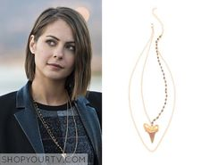 Arrow: Season 4 Episode 9 Thea's Layered Necklace