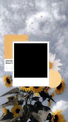 Creative Instagram Stories, Instagram Story Ideas, Aesthetic Pastel Wallpaper, Aesthetic Wallpapers, Polaroid Picture Frame, Polaroid Template, Birthday Post Instagram, Framed Wallpaper, Black Wallpaper