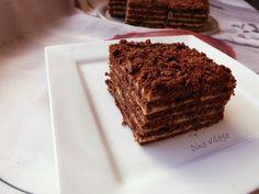Király krémes, avagy csokis-karamellás marlenka