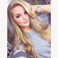 Beauty Makeup, Hair Makeup, Hair Beauty, Flawless Makeup, Beauty Tips, Eye Makeup, Hair Inspo, Hair Inspiration, Casey Holmes