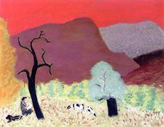 Pink Sky Milton Avery - 1944