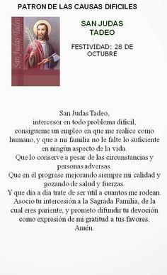 San Judas Tadeo, patrono problemas difíciles