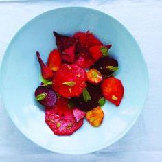 Roasted beet & grapefruit salad recipe.