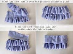 Юбочка для девочки. Одежда для детей своими руками