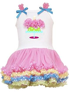 Rare Editions Baby Girls Birthday Tutu Dress Pink 9M * Find out more about the great product at the image link.