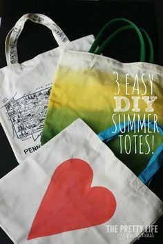 901ab5e6287f DIY Bag DIY Crafts   DIY Summer Totes Diy Y Manualidades
