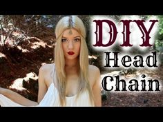 ▶ DIY Chain Head Piece Tutorial: (Inspired by CW's Reign) - YouTube