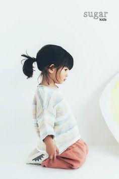 Ines Li from Sugar Kids for ZARA.