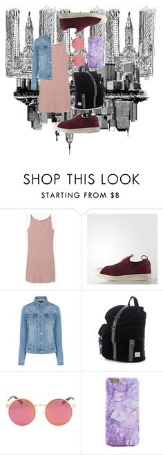 """City-Strollin'"" by agathabeatrice on Polyvore featuring MANGO and Warehouse"