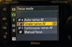 Search Camera servo mode. Views 1986.
