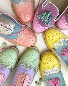 """DAPPER DAY Events on Instagram: """"No Easter egg but we did find cute shoes from @abo_shoes by @ana_ljubinkovic 🐰 #dapperday #cuteshoes #pastelmood #omgshoes…"""" Dapper Day Outfits, Crazy Shoes, Shoe Collection, Cute Shoes, Crocs, Easter Eggs, Oxford Shoes, Slip On, Fancy"""