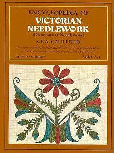 The Dictionary of Needlework 6 Volumes Encyclopedia Needlecraft Books on CD