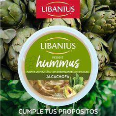 Cumple tus propósitos de año nuevo con esta fuente de proteína vegetal a base de alcachofa y espinaca. Hummus, Artichoke, Keto, Base, Vegetables, Food, Artichokes, Spinach, New Year's Resolutions