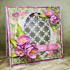 Especially for you - created w/ the Sweet Peony Collection from Heartfelt Creations - #HeartfeltCreations #cardmaking #scrapbooking #Easter #papercraft #friendship #thinkingofyou