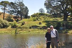"""""""Our wonderful day at Hobbiton....Merv was a great courteous driver and escort, full of information and history regarding the different areas as we drove to Hobbiton. The elderly gentleman  who gave us our tour was so kind and informative. We thank him so much."""" Mr & Mrs Muths, Tennessee. #Matamata,Waikato #NewZealand #Hobbit #LuxuryTravel"""