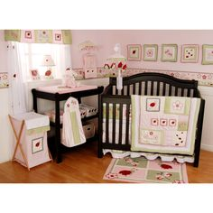 Baby Girl Nursery Themes: Ladybugs