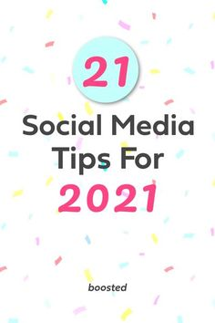 2020 may have been a bust, but 2021 will be the year for your business! Our team of experts scoured the internet for the best and most successful social media ideas for your business for 2021. Start the year off with new social media inspiration and marketing tips that will make 2021 the best year for your business on social media! Click now for 21 social media marketing tips for 2021! #socialmediamarketing #instagram #businesstips #smallbusiness #bloggingtips Social Media Marketing Business, Social Media Trends, Business Tips, Business Planning, Online Business, Instagram Tips, Blog Tips, Tricks, Virtual Community