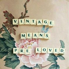 Ever wonder where your Vintage items have traveled?  Me too. ♡