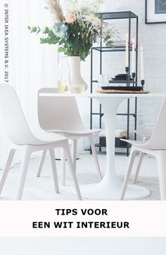 If they ever make a white version, I am buying these! IKEA has not white version. Or DIY? Chaise Ikea, Ikea Chair, Dining Chairs, Dining Table, Tulip Table, Scandinavian Apartment, Natural Interior, Small Apartments, Decoration