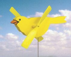 19-W3018 - Canary Whirligig Woodworking Plan - WoodworkersWorkshop® Online Store