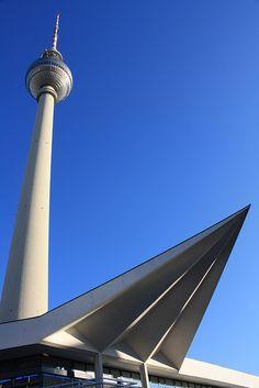 Berlin TV tower - The Fernsehturm