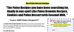 These paleo dessert recipes will be sure to satisfy any sweet tooth. These recipes are created with just the right amount of cocoa powder, pumpkin spice and other so called secret ingredients that will make the taste great and still be paleo diet friendly