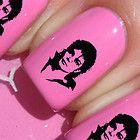 Michael Jackson Nail Art/ Nail Decals/ nail transfers/ Nail Stickers/ Trendy 255