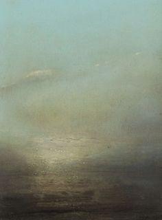"Saatchi Online Artist Richard Whadcock; Painting, ""Leaching Sky"" #art"