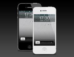 iPhone 4 Template Version 2 - 365psd
