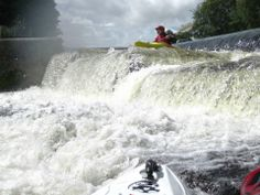 Lucan Weir, Liffey 2012 Kayak Adventures, Niagara Falls, Kayaking, Nature, Travel, Viajes, Traveling, Nature Illustration, Kayaks