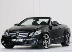 2011 Brabus Mercedes Benz E Class Cabriolet