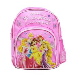 Disney Princess Small BackPack Princesses Small School Bag >>> Learn more by visiting the image link. Small School Bags, Best Kids Backpacks, Small Backpack, Mini Backpack, Lace Sweatshirt, Travel Style, High Heels, Princesses, Wallet
