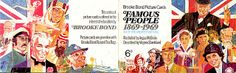 Famous People 1869-1969 Brooke Bond PG Tips Tea Cards Album 1969