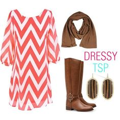 Pretty sure I saw this dress at Charlotte Russe the other day...Love this idea to pair it with the scarf and boots!